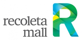photograph of Recoleta Mall identity