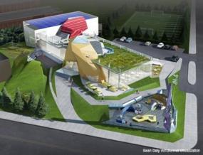Mockup of Children's Museum of Bulgaria