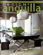 Cover of Design Anguilla magazine