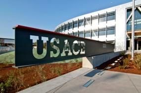 Photo of USACE wayfinding program