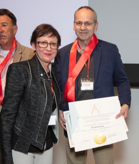 Udo Schliemann Inducted into the Royal Canadian Academy of Arts