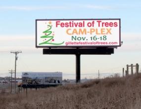 Photo of Watchfire Signs digital billboard