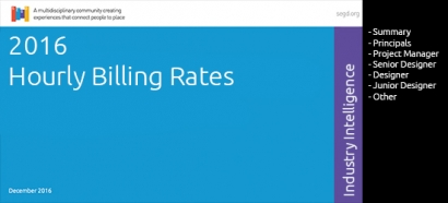 Click to get the SEGD Business Intelligence 2016 Billing Rates