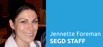 SEGD Staff Introductions: Jennette Foreman, Director of Operations