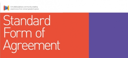 SEGD Standard Form of Agreement 2016