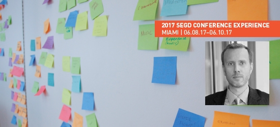 Siggi Bachmann to lead Design Thinking Workshop at the 2017 SEGD Conference