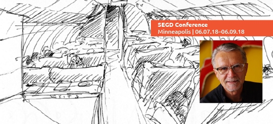 Join Wayne Hunt, FSEGD, at the 2018 SEGD Conference Experience Minneapolis.