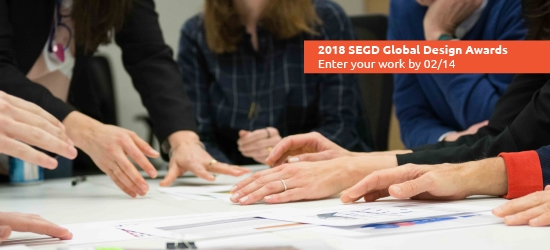 Submit your 2018 SEGD Global Design Awards entries by 02/14!