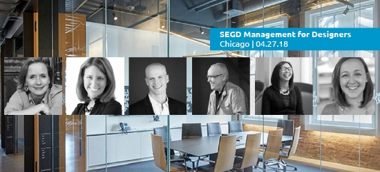 Meet the Speakers for 2018 SEGD Management for Designers
