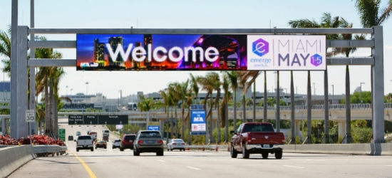 SEGD Wayfinding Event, April 14-15, at Miami Intl Airport