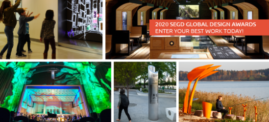 (Photo grid with 2019 Global Design Award-winners.) The Global Design Awards deadline is January 31, 2020.