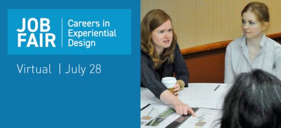 Careers in Experiential Design: Virtual Job Fair