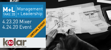 2020 SEGD Management + Leadership event press release