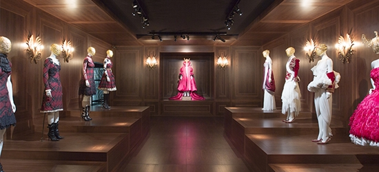 Alexander McQueen Savage Beauty Exhibition at the V&A