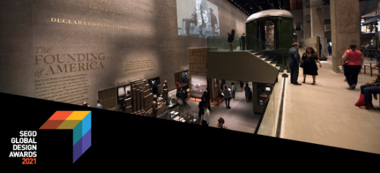 African American History and Culture Projects—Honored by SEGD GDA's