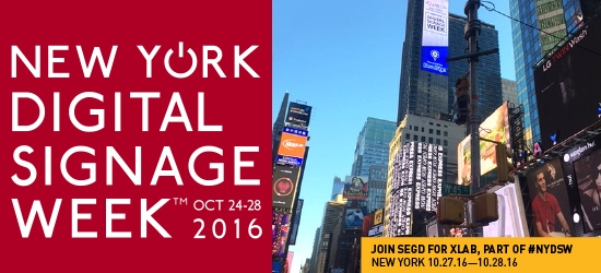 NY Digital Signage Week 2016 Image