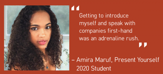 Present Yourself Becomes a Biannual Mentorship Event