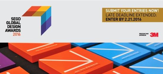Enter The 2016 SEGD Global Design Awards!