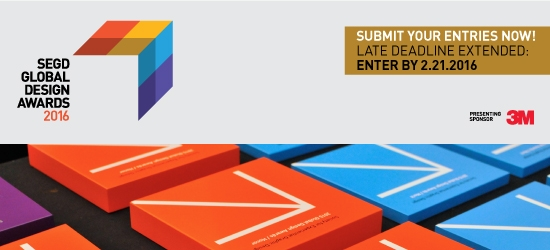 Enter The 2016 SEGD Global Design Awards!