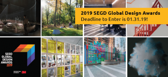 Enter the 2019 SEGD Global Design Awards!