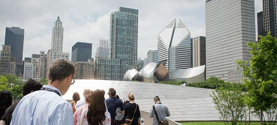 Photo: 2015 SEGD Conference-goers in Chicago.