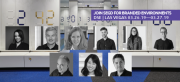2019 Branded Environment Speakers are as follows: (left to right, top to bottom) Angela Hill, Eric LeVine, Katie Sprague, Nathan Hill, Jill Spaeth, Joe Lawton, Eli Kuslansky, Hyunmi Jenny Lee, Braulio Baptista.