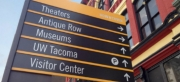 TAcoma Pacific Avenue district wayfinding