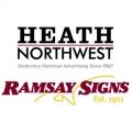 Heath Northwest Signs Ramsay Sign Logos