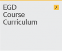 Access the course curriculum from the known EGD Courses