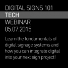 Digital Signs 101 Webinar