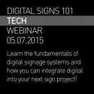 Digital Signs 101 Webinar