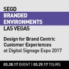 2017 SEGD Branded Environments