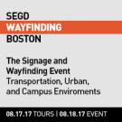 2017 SEGD Wayfinding