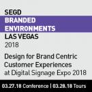 2018 SEGD Branded Environments