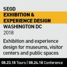2018 SEGD Exhibition and Experience event in Washington DC 23-24 August