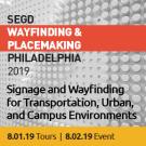 2019 SEGD Wayfinding & Placemaking Banner
