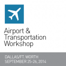 Graphic for the SEGD 2014 Airports Workshop, Dallas