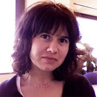 Headshot of Angela Serravo, SEGD Denver Chapter, Tangram