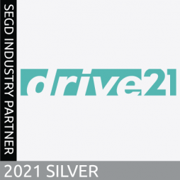 Drive21, a 2021 SEGD Silver Industry Partner