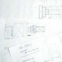 Lucy Holmes, SEGD eg Magazine Design Sketches