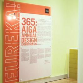 365: AIGA Annual Design Exhibition, Gensler Studio 585