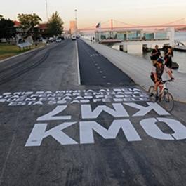 Bikeway Belém, Lisbon Seaport (APL), EDP, Lisbon City Hall, P-06 Atelier, Global Landscape Architecture