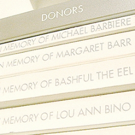 Friends of the Cerritos Library Donor Recognition Wall, Studio Wilks