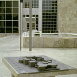 Getty Museum Wayfinding Program, Getty Museum Exhibition Design Department