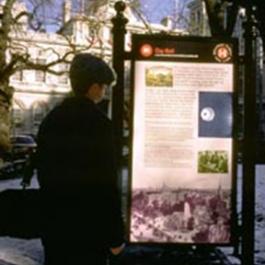 Heritage Trails, J.M. Kaplan Foundation, Heritage Trails New York, Alliance for Downtown, Chermayeff & Geismar