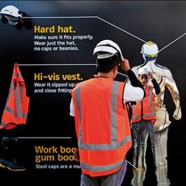 Site Safety Installation, Fletcher Construction, Studio Alexander