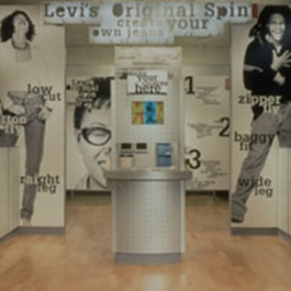 Levi's Original Spin Store Design, Levi Strauss & Co., Morla Design