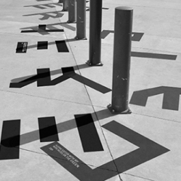 Urban Tales Shadow Typography, Massey University, College of Creative Arts, Katie Bevin