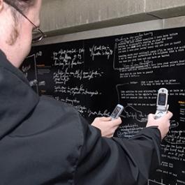 Wall of Discovery, University of Minnesota, LA Ink