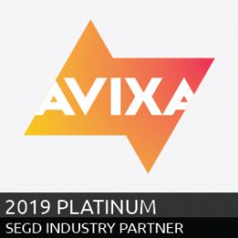 AVIXA, 2019 SEGD Platinum Industry Partners